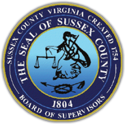 The Seal of Sussex County, Virginia