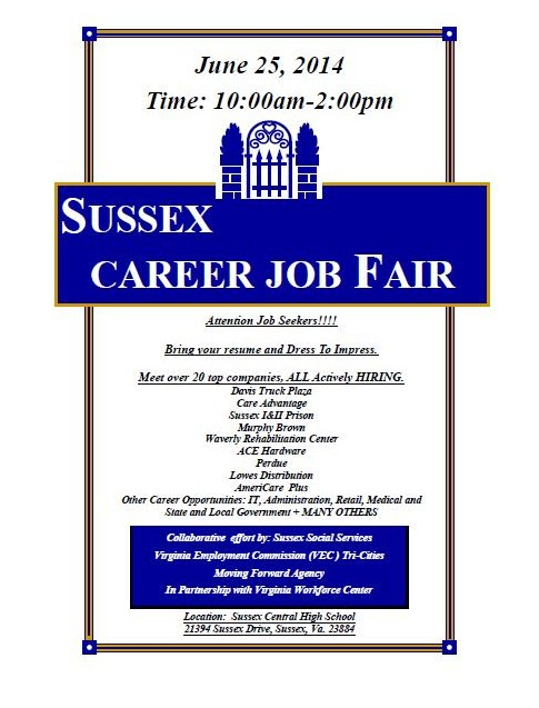 2014 Annual Sussex Career Fair!