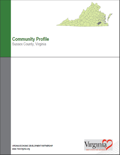 Community Profile for Sussex County, Virginia