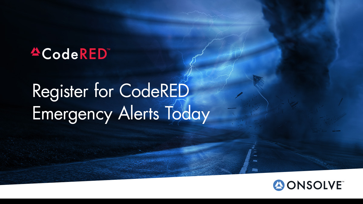 Register for Code Red Emergency Alerts Today