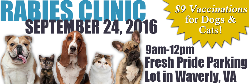 September Rabies Clinic