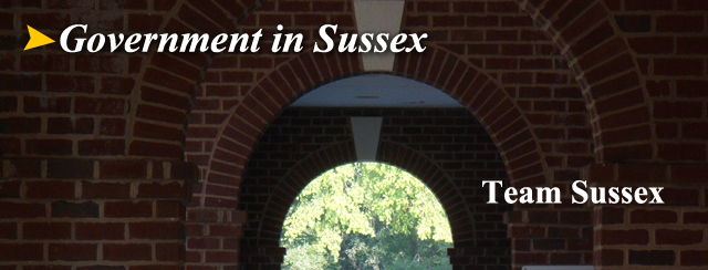 Government in Sussex County...