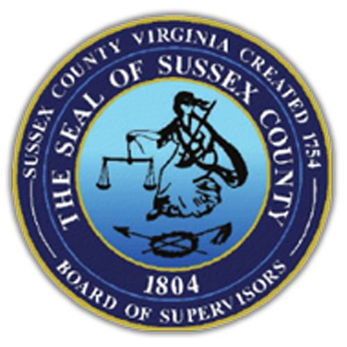 Notice of Special Meeting of the Board of Supervisors, Sussex County, Virginia (April 14, 2020)