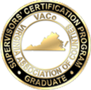 VACo Recognizes Graduates of the Virginia Certified County Supervisors' Program